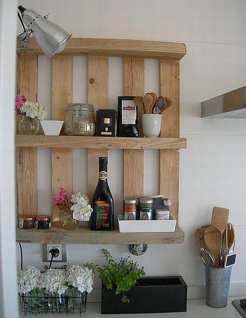 estanteria cocina palet
