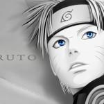 Naruto Wallpaper Blanco y Negro
