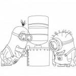 Colorear dibujo de los minions