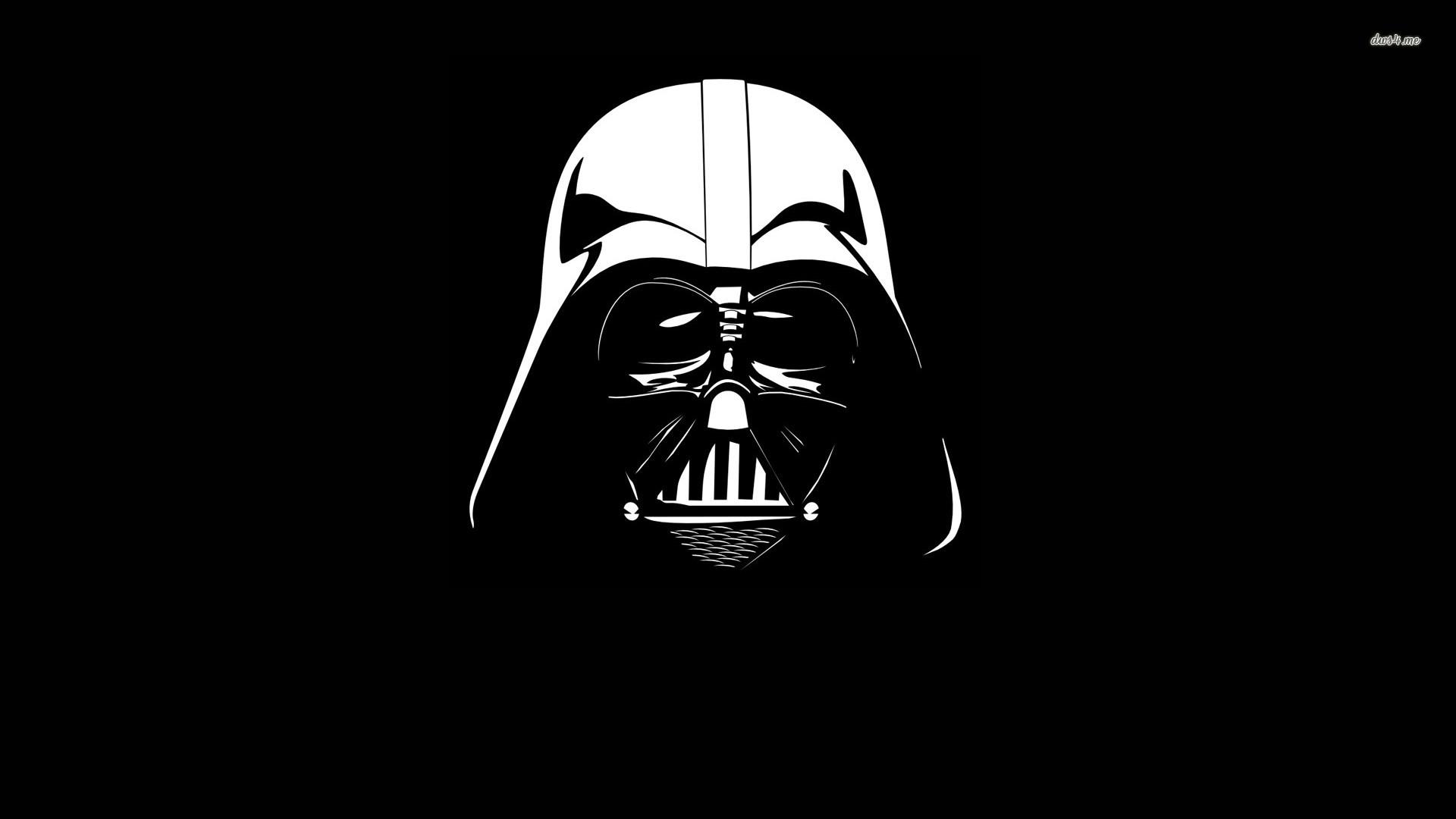 Darth Vader Fondo Pantalla Negro