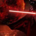 Darth Vader con sable laser