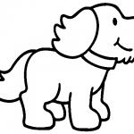 Dibujos de perros pra colorear