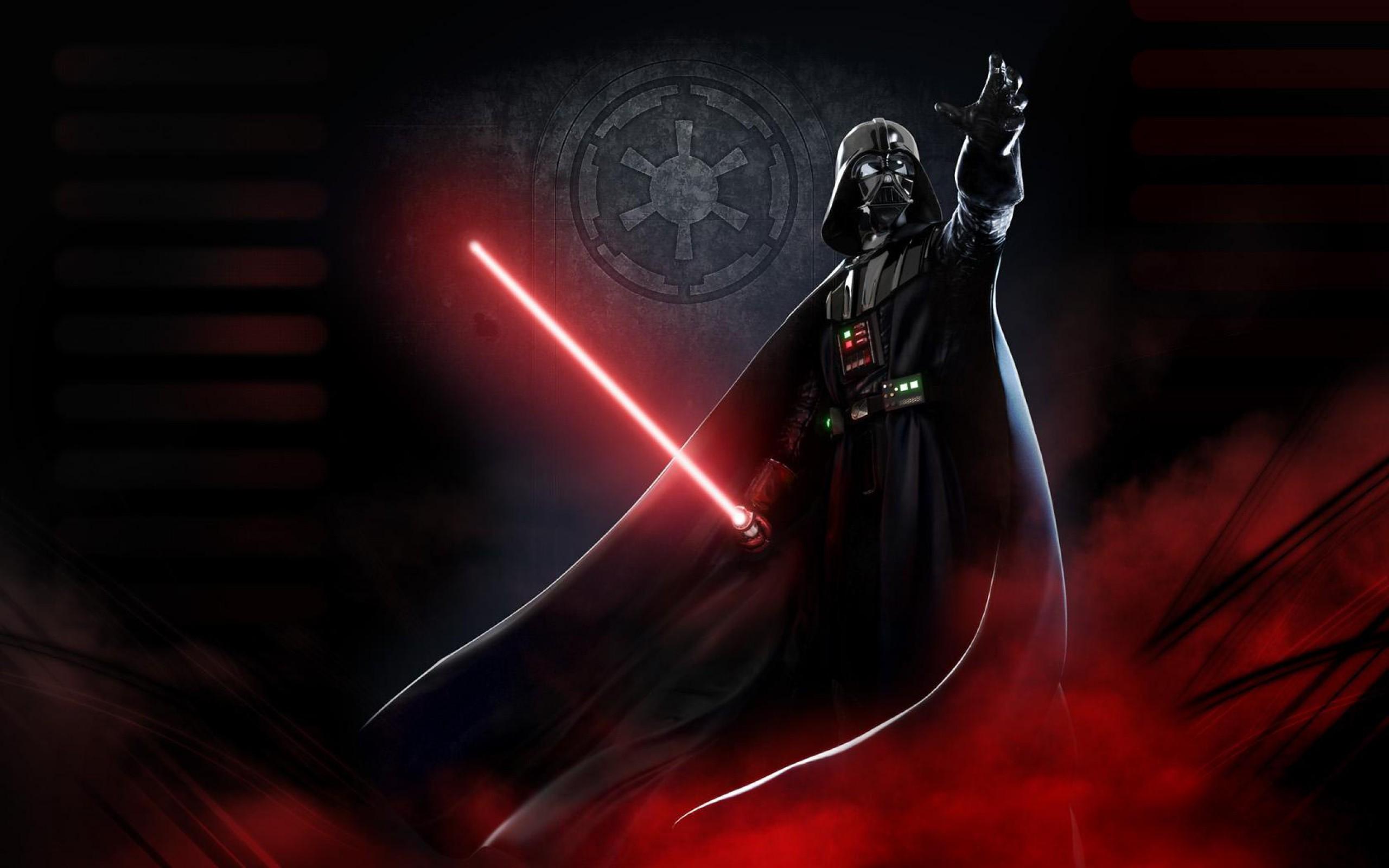 Walllaper La fuerza Darth Vader