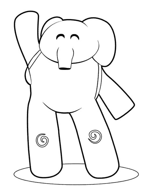 Pocoyo elefante