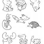 Animales para pintar
