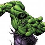 Comic Hulk Dibujo