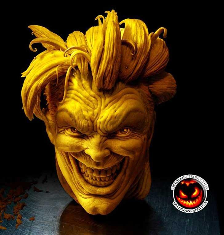 Fruta cabeza joker