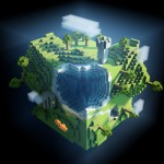 HD Minecraft Fondo