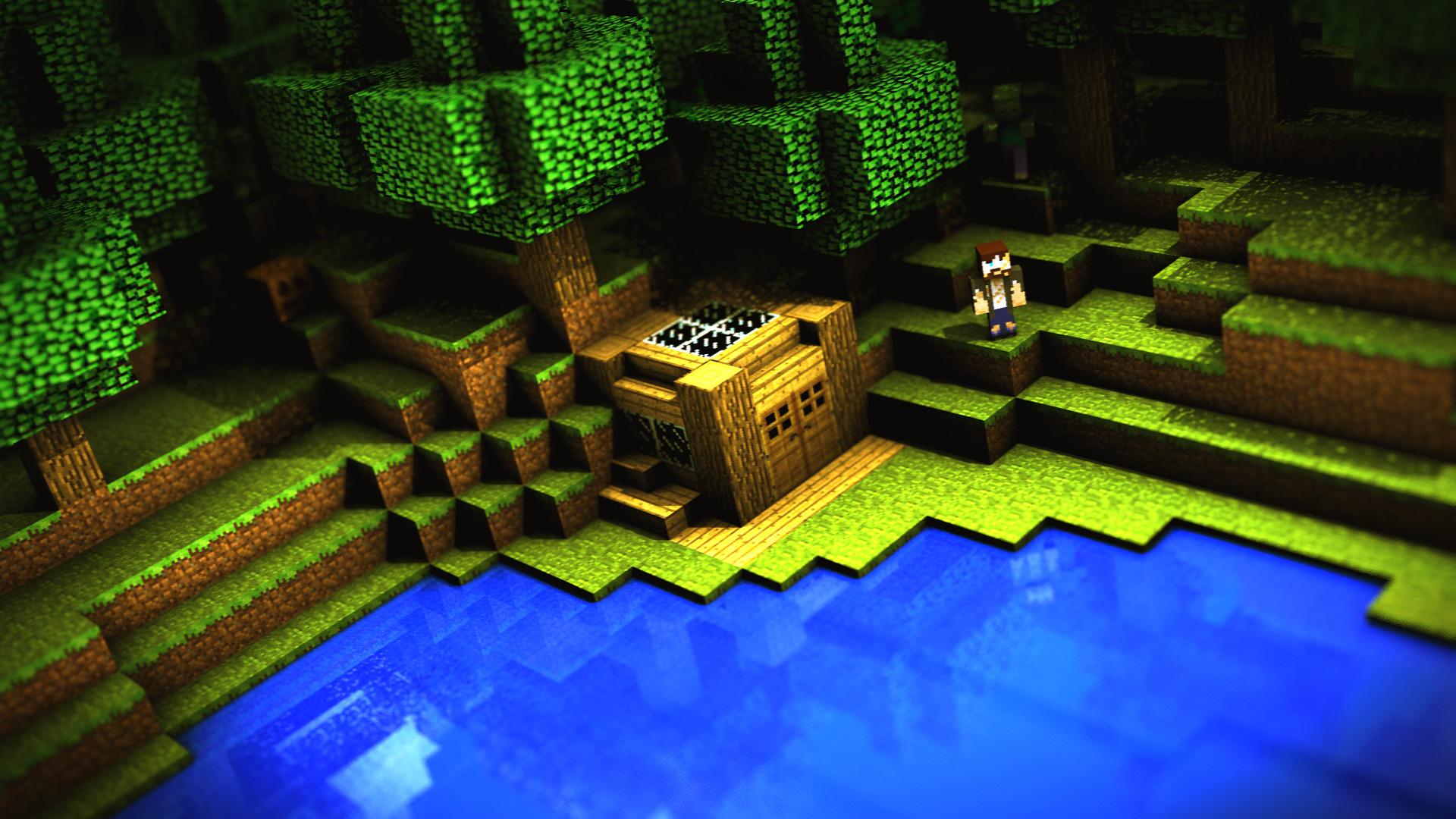 Minecraft Paisaje