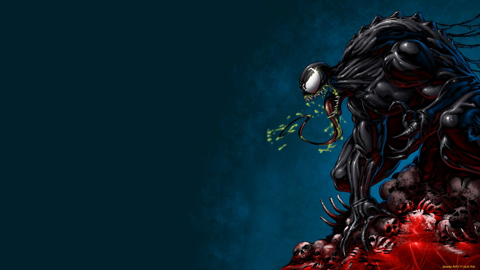 Venom HD Desktop Background