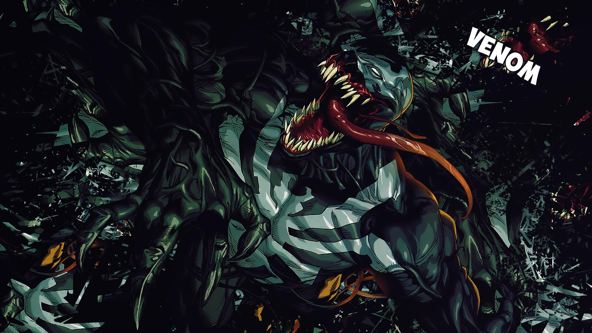 Wallpaper Comic Venom