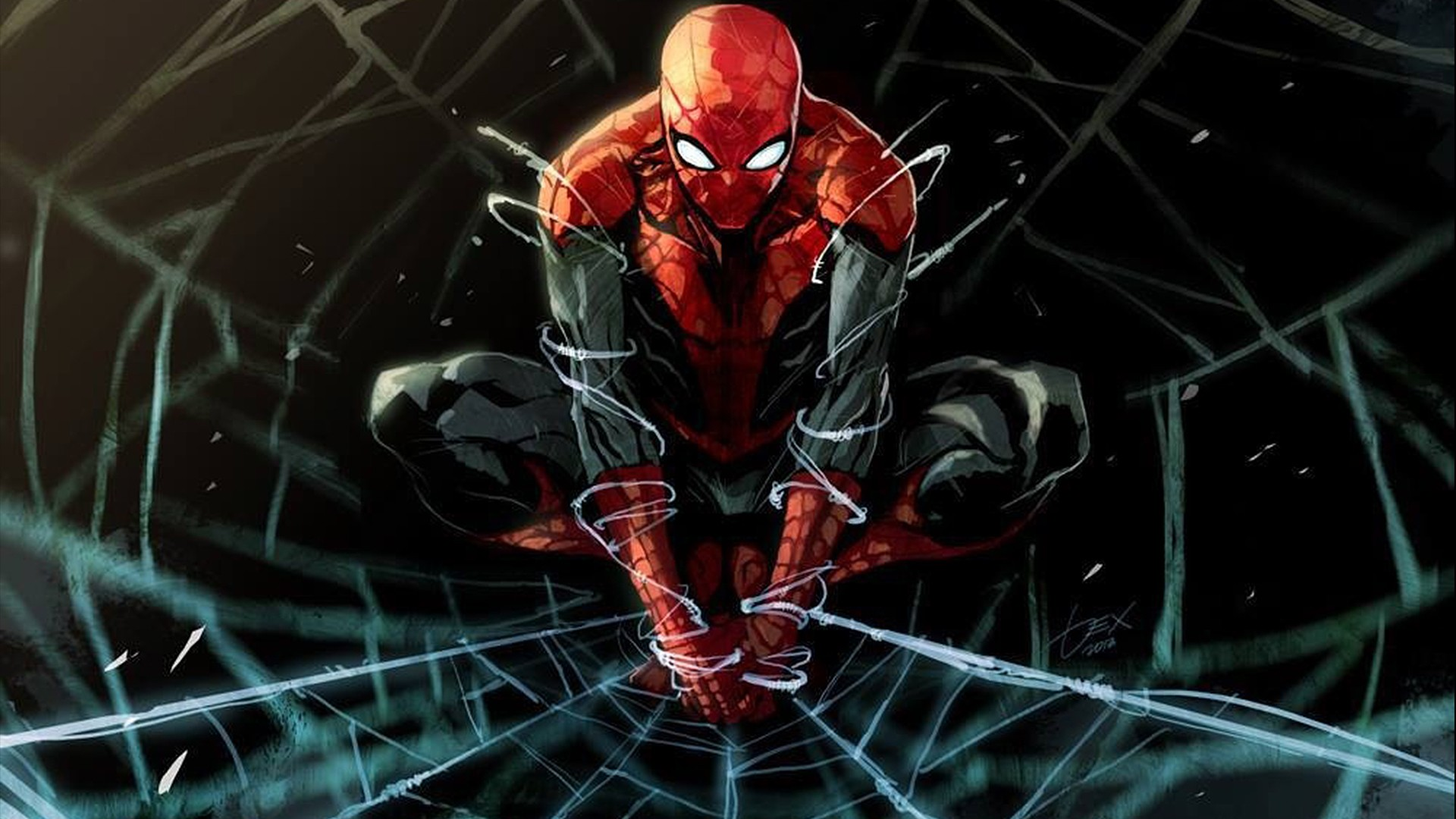 Wallpaper Spiderman Comic