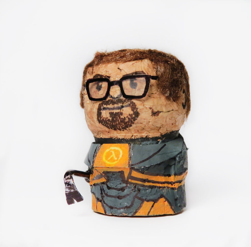 Gordon Freeman Corcho botella