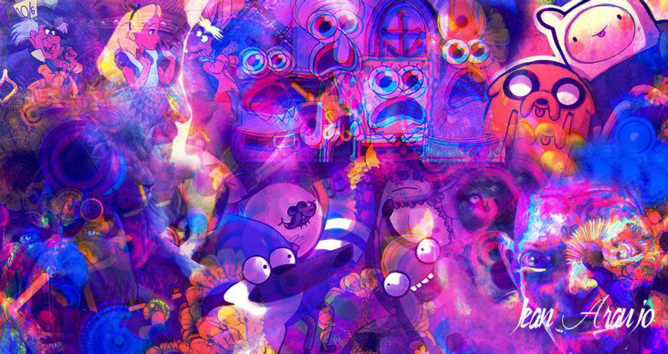 Fondo Colores Abstracto
