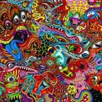 Wallpaper colores psicodelicos