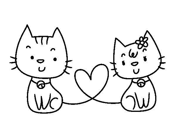 Dibujos De Gatos Para Colorear Rincon Util