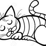 Imagenes y dibujos de Gatos para colorear