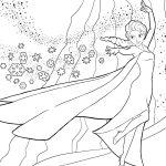 Colorear Dibujos de Frozen para pintar y dibujar