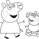 Colorear los Dibujos Peppa Pig Pintar