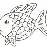 Colorear y pintar un pez