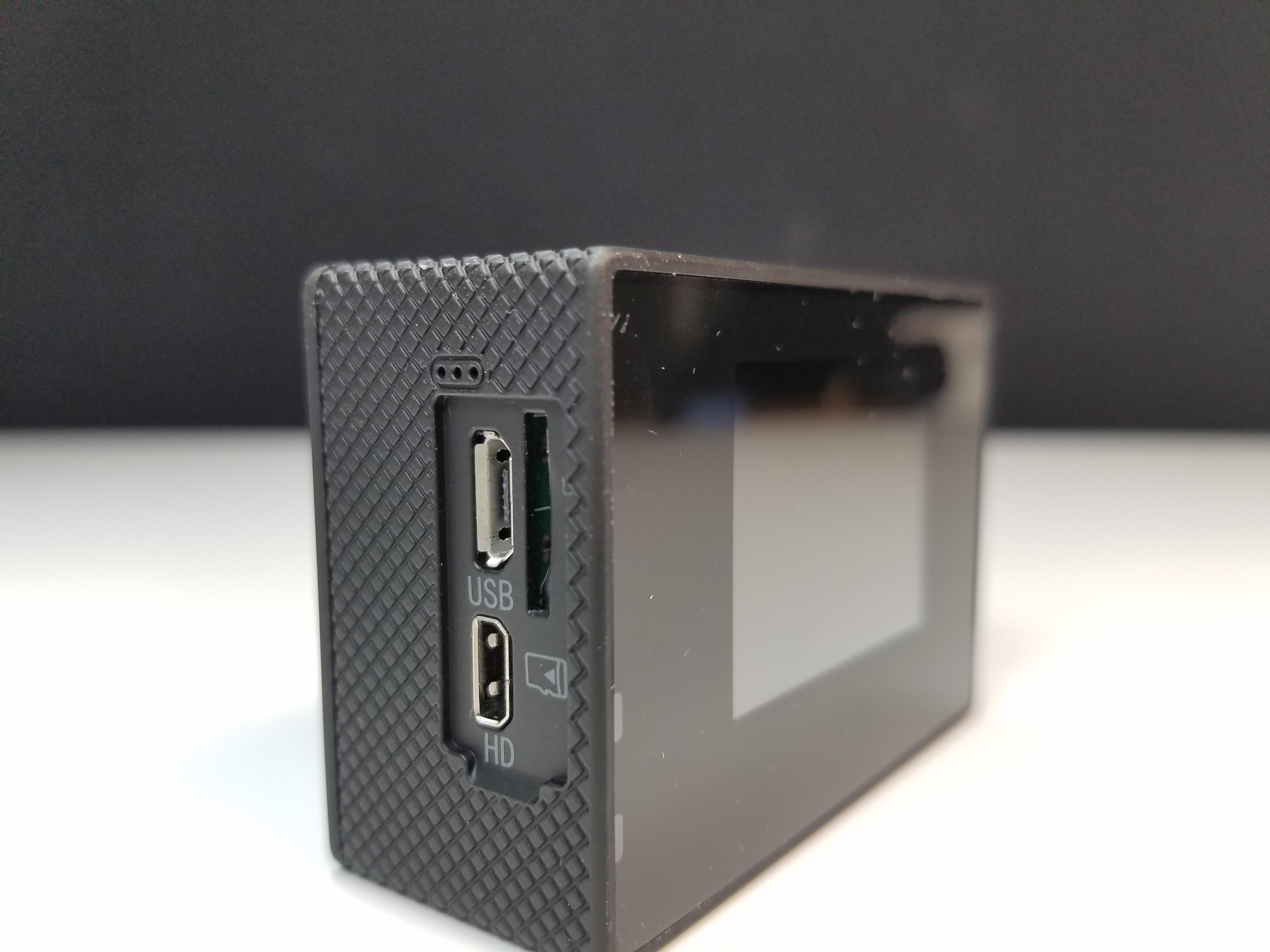 De lado Sjcam WiFi SJ4000