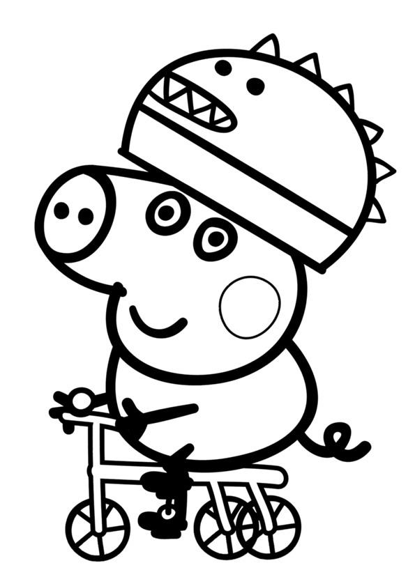Dibujos Bonitos De Peppa Pig Para Colorear Rincon Util