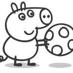 Dibujos de Peppa Pig para imprimir