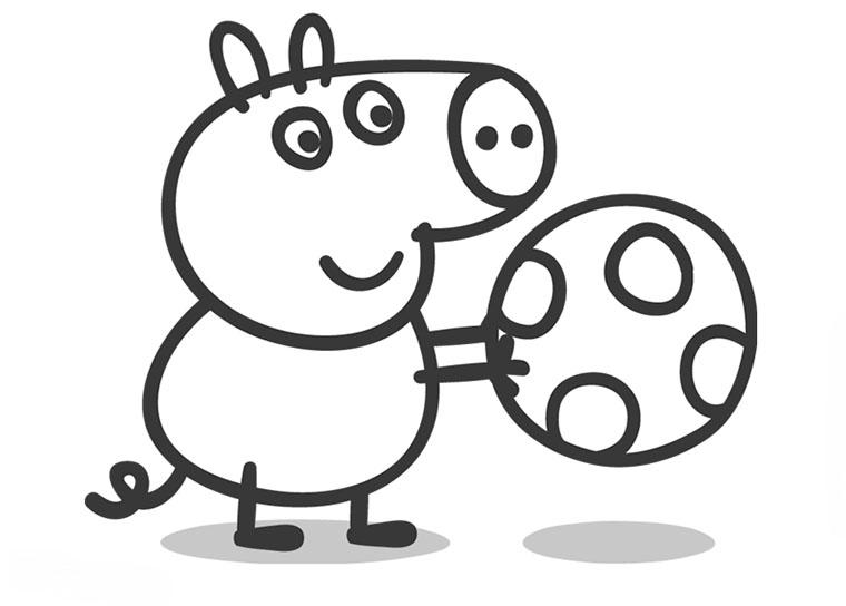 Dibujos de Peppa Pig para imprimir - Rincon Util