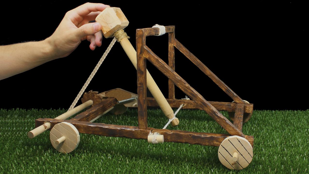 Como hacer Catapulta Casera