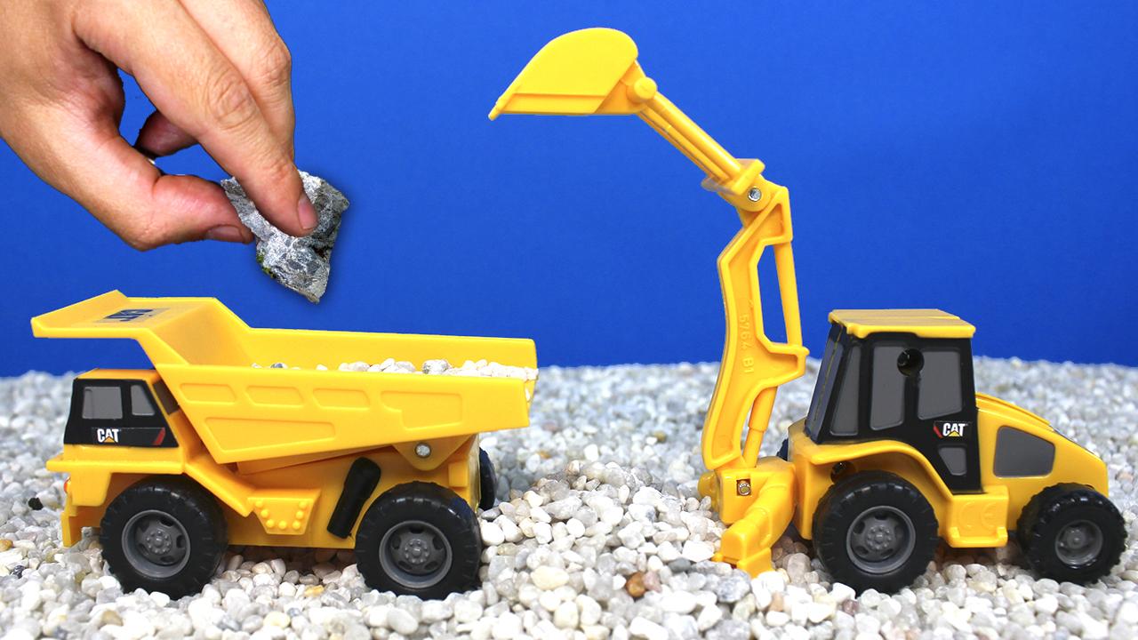 Camiones de Juguete y Juegos de Construcción