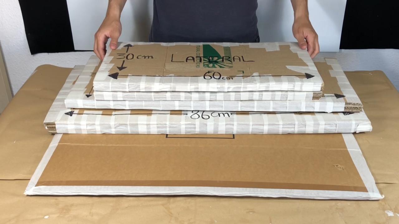 Mueble de Carton Reciclado - 10