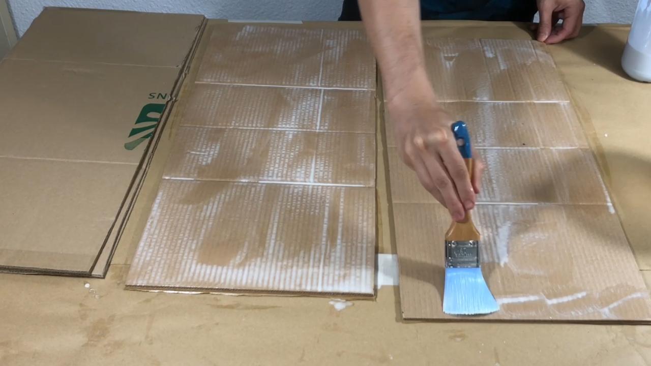 Mueble de Carton Reciclado - 11
