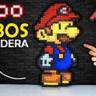 Mario Bross con Cubos de Madera