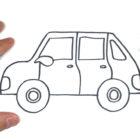 Como dibujar un Coche o Auto