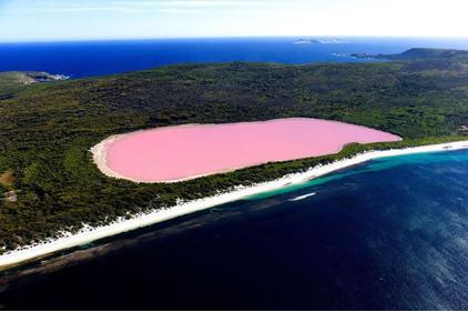 Lago Hillier Australia