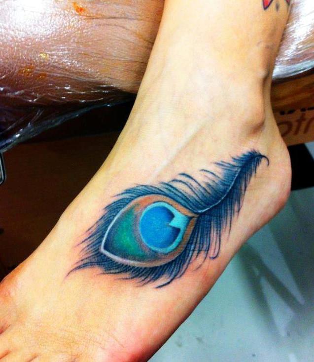 Los Tatuajes De Plumas : Ideas Y Galeria Con Diseños