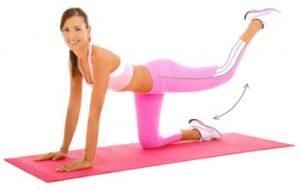 extension de cadera para fortalecer gluteos