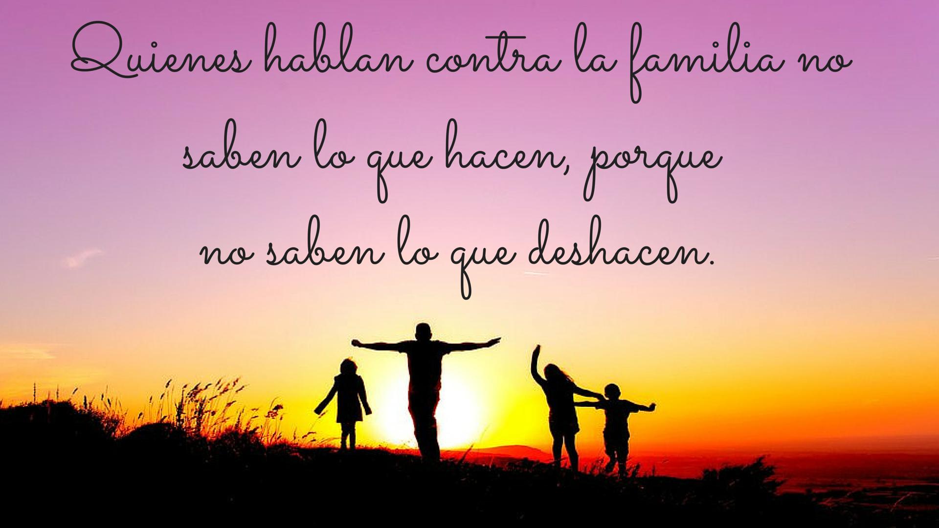 Frases bonitas sobre la familia