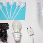 Materiales para hacer una lampara casera
