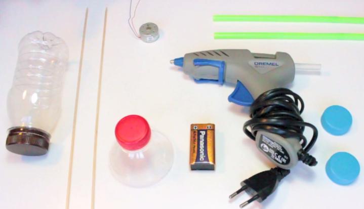 Materiales coche electrico casero