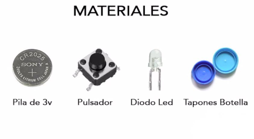 Materiales para linterna casera