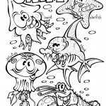 Animales marinos para colorear del mar