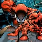 Spiderman trepando