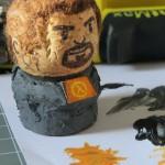 Muñeco pintado gordon freeman