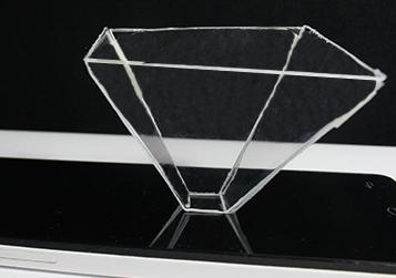 como hacer un holograma casero