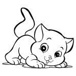Dibujos de gatos para calcar