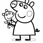 Bonitos Dibujos Peppa Pig Colorear