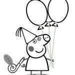 Dibujos Peppa Pig imprimir y colorear