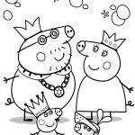 Familia Dibujos Peppa Pig Pintar