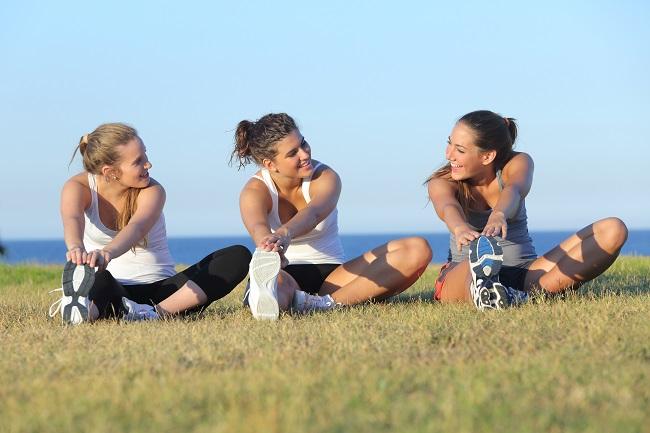 Como hacer deporte en grupo